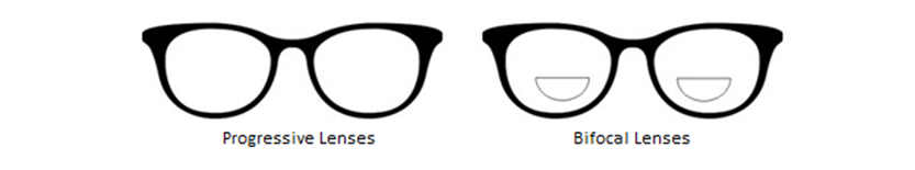 progressive vs bifocal lenses