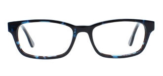 Picture of iLookGlasses DNA 7307 TURQUOISE - PLASTIC,RECTANGLE,OVAL,FULL-RIM,fashion,office,everyday - prescription eyeglasses online USA