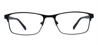 Picture of iLookGlasses MOMENTUM 6477 BLACK - RECTANGLE,METAL,FULL-RIM,fashion,light weight,office,sporty,everyday - prescription eyeglasses online USA