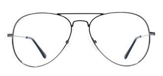 Picture of iLookGlasses OTTO - SUNNY GRAPHITE - METAL,AVIATOR,FULL-RIM,fashion,classic,light weight,office,retro,everyday - prescription eyeglasses online USA